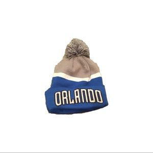 NWOT Orlando Magic Adidas Pom Beanie Hat Cap